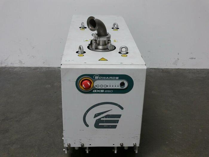 Used Edwards GXS 250 Dry Screw Vacuum Pump LV LD RE CA  Model GXS250F  147 CFM