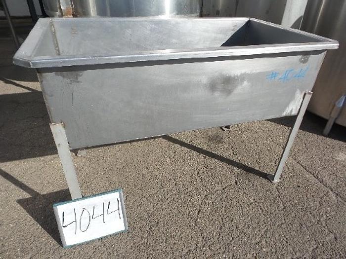 120 Gallon Rectangular Stainless Steel Tank