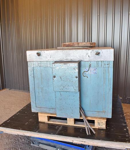 Used USED MORGAN FURNACE, ELECTRIC RESISTANCE BALE OUT FURNACE, MODEL HE ERBO M3