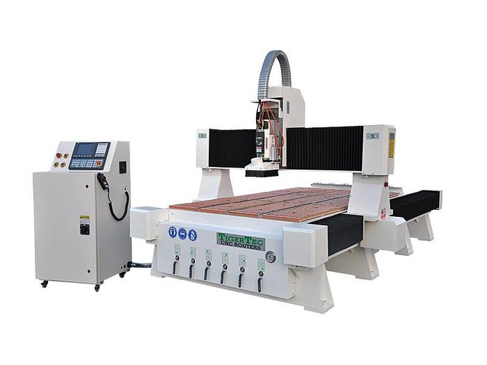 CNC Router TR408H-ATC with dust  protection