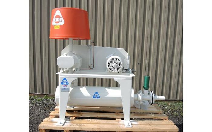 """USED BLOWER, ROTARY LOBE, 4"""" INLET & OUTLET"""