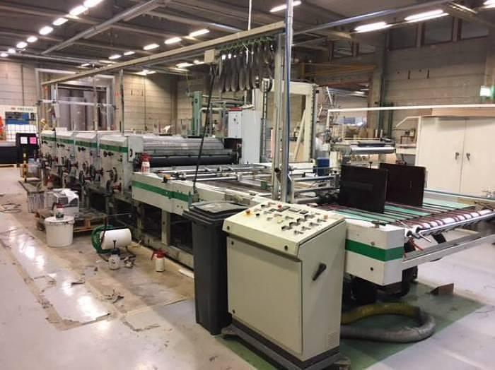 Used MECEM sheet to sheet flexo printing machine (1997)