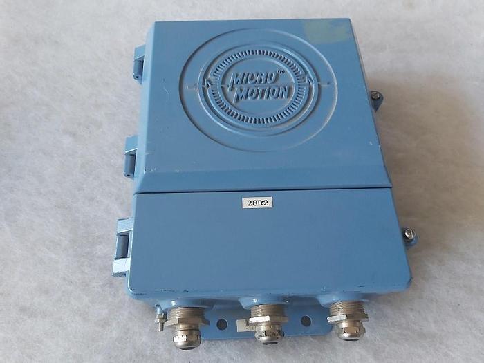 Gebraucht Fern Durchflussmesser, RFT 9712 Ex, Micro Motion,  gebraucht
