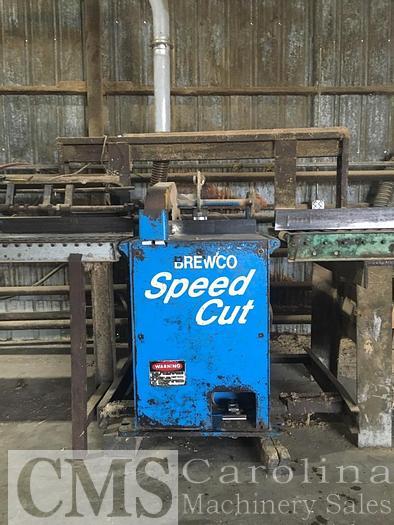 Used Brewco Speed Cust Chop Saw