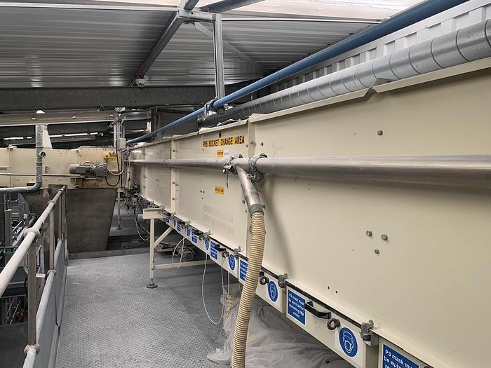 Used 1999 APOLLO BV  400ZK Bucket Conveyor