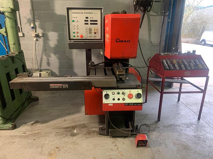 Used AMADA SP30 Punch press with CNC control