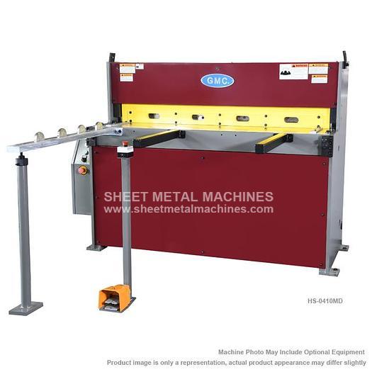 GMC Deluxe Hydraulic Shear HS-0410MD