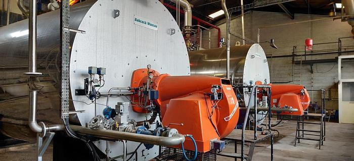 BABCOCK WANSON steam boiler