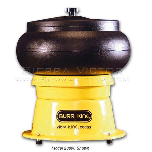 BURR KING 20 quart Vibratory Bowl MODEL 200
