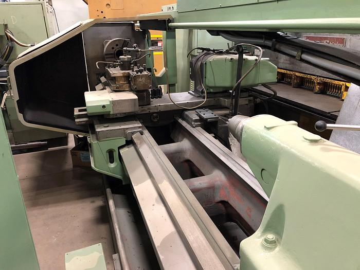 Used Okuma CNC Flatbed Turning Center LH35N-3000