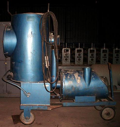 Used Spencer Model PB 715 Mobile Vacuum System