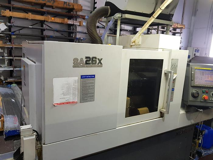 Used 2010 NEXTURN SA26X Swiss Type Automatic Screw Machine with Fanuc 18iTB