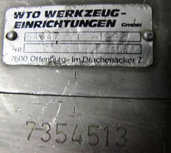 WTO TNS 30 angetr. WZ VDI 40 / 7354513