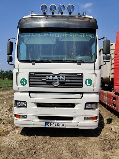 2001 MAN TGA 18.460 , euro 2 , manual ZF