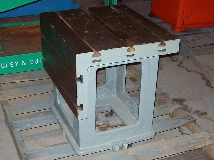 Used 1 ea. Radial Arm Drill Box Table