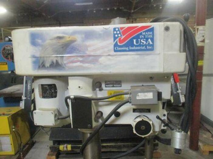 """CLAUSING 20"""" HEAVY DUTY DRILL PRESS VARIABLE SPEED MODEL 2277 AS"""