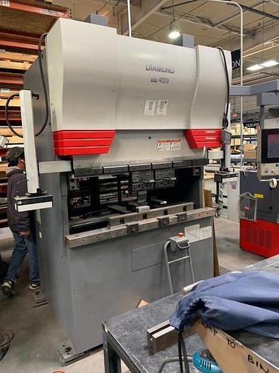 Used 2015 40 Ton Mitsubishi Diamond BB4013 Electric CNC Press Brake