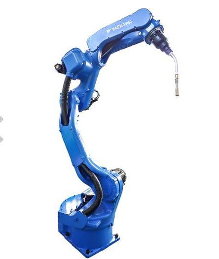 Used YASKAWA MOTOMAN MA1440 6 AXIS MIG WELDING ROBOT WITH DX200 CONTROLLER