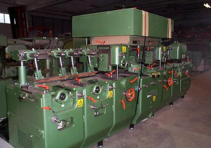Used Planing machine WACO HM 225, 7-spindles