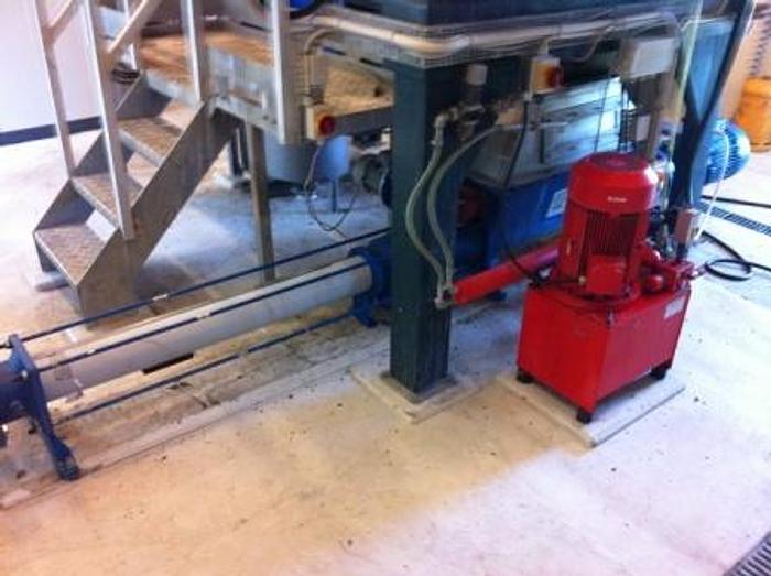 Used PCM, with paddle system. Pump type MR40GGB24.