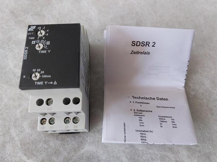 Drei Stern Zeitrelais, SDSR 2, Conta clip,  neu