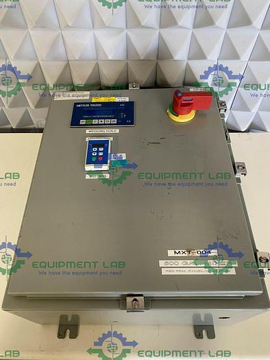 Used Mettler Toledo  Panther Digital Weight Display & Lenze ESV4 Inverter in Enclosure