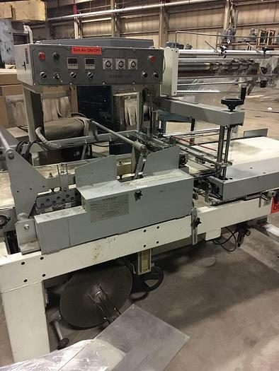 "Used TEXWRAP MODEL 3022 AUTOMATIC L-BAR SEALER PACKAGE SIZE RANGE: UP TO 29""L X 20""W X 9""H"