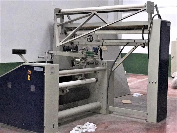 Used TECNOTEAM doubling rolling machine