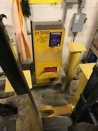 1999 HOIST 20,000 LBS ELECTRIC LIFT TRUCK