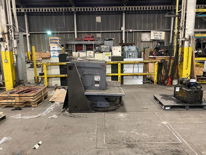 2013 INDUCTOTHERM DURALINE 2000 LB. HYDRAULIC INDUCTION FURNACE BOX