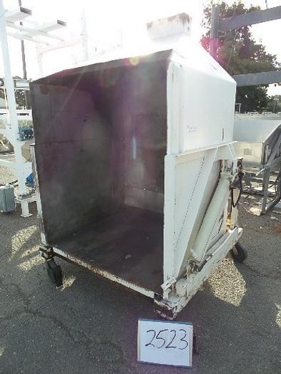 Used Hydraulic Single Bin Dumper