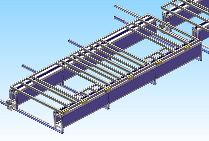 Steel Frame Assembly Table