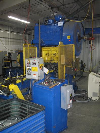 Used 75 TON MINSTER HIGH SPEED PRESS
