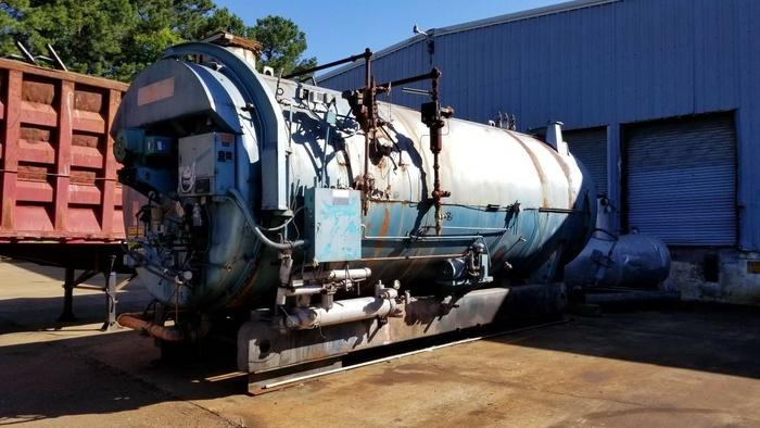 800 HP Cleaver Brooks Boiler