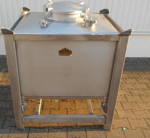 Used X14897D - Container 500 ltr. Stainless Steel WALDNER
