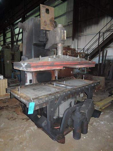 BRITISH MOLDING MACHINE CT6 JOLT SQUEEZE ROLLOVER LIFT