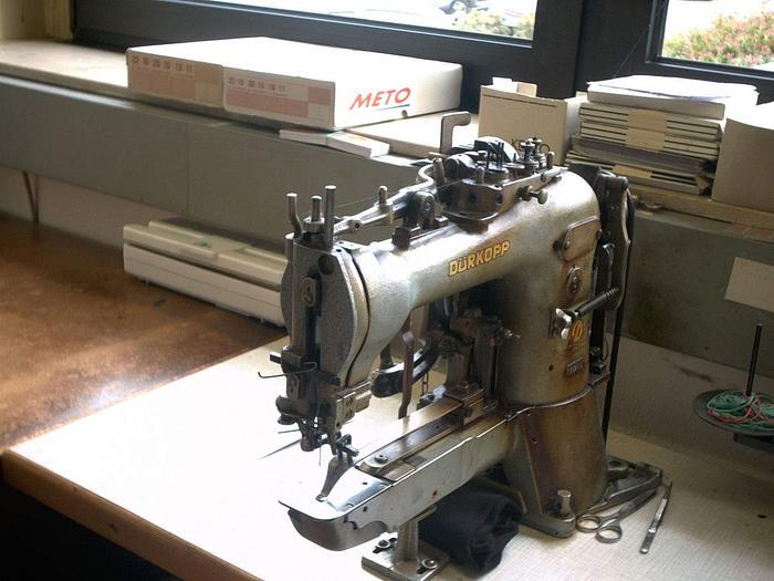 Gebraucht Riegelmaschine DÜRKOPP  Kl. 569-118 Punktriegel