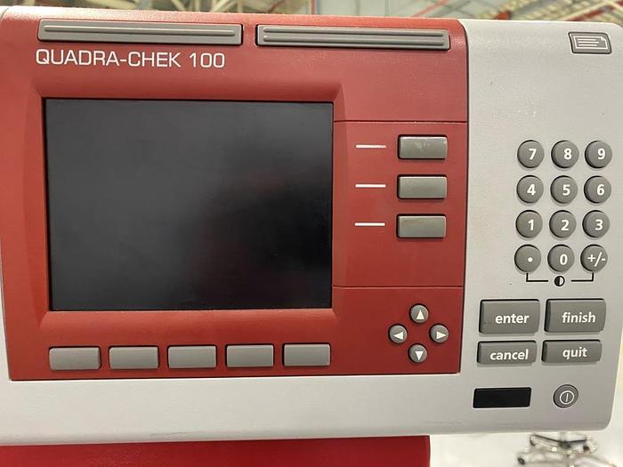 Used Starrett HF600 Horizontal Floor Standing Profile Projector