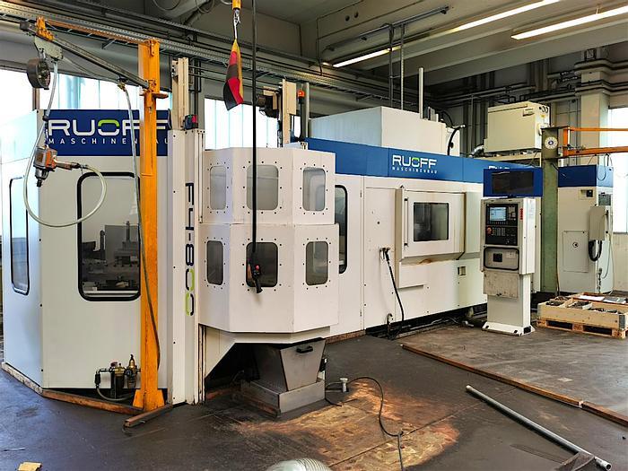 Gebraucht Horizontales Bearbeitungszentrum HELLER RUOFF F4 - 800 (BA2)