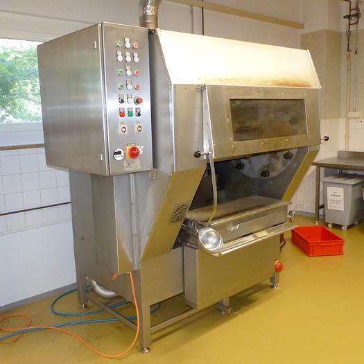 Gebraucht gebr. Baumkuchen-Backautomat RUDOLF SCHLEE GmbH Type BKM-A-G-8x80, Baujahr 2015.