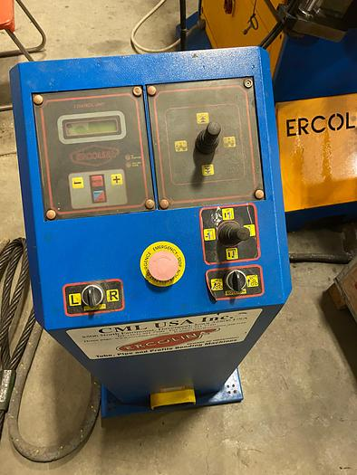 Ercolina  4″ x 1/2″ Hydraulic Roll-Section Bender