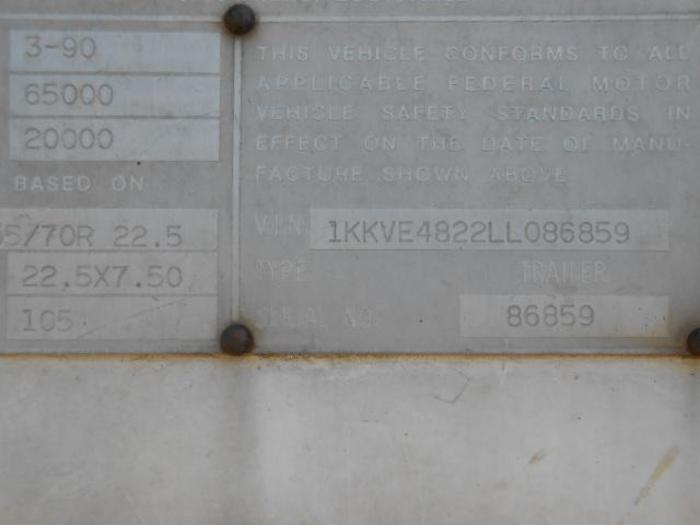 1990 KENTUCKY MOVER BOX
