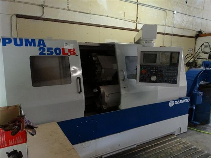 Used Daewoo Puma 250 LB CNC Turning Center