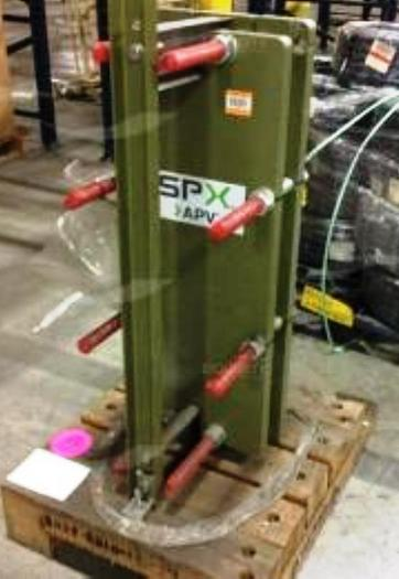 SPX Model SR2 M-27 Plate Heat Exchanger, New Condition