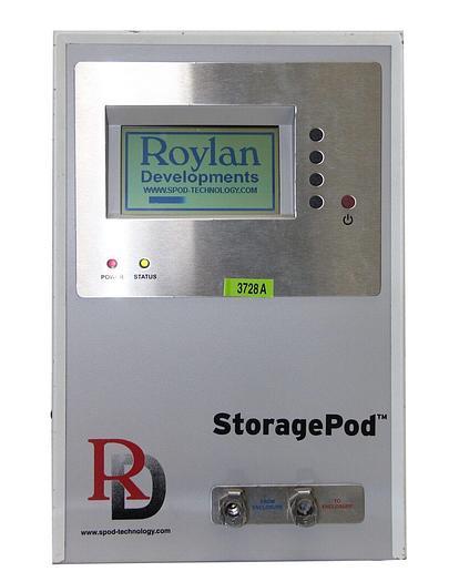 Used Roylan Developments SPOD0001 SPOD StoragePod System V2, 100-240V AC  (3728A)