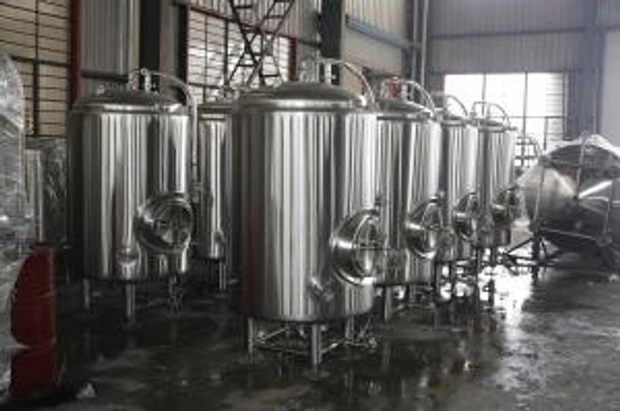 New Stock - 7 bbl Jacketed Brite Beer Tanks