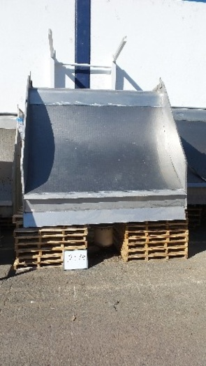 8' Wide Parabolic Wastewater Screen #2338