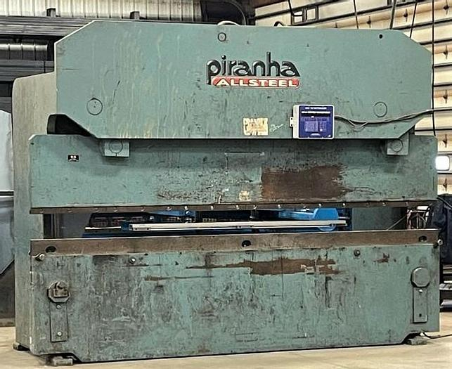 Used Piranha Allsteel 12' x 175 Ton Hydromechanical Press Brake 175-12