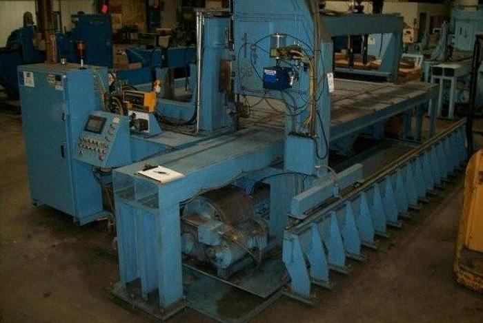 "12"" x 144"" TANNEWITZ Model 3000-MH1 Vertical Band Type Plate Saw; Mfg. 2003"