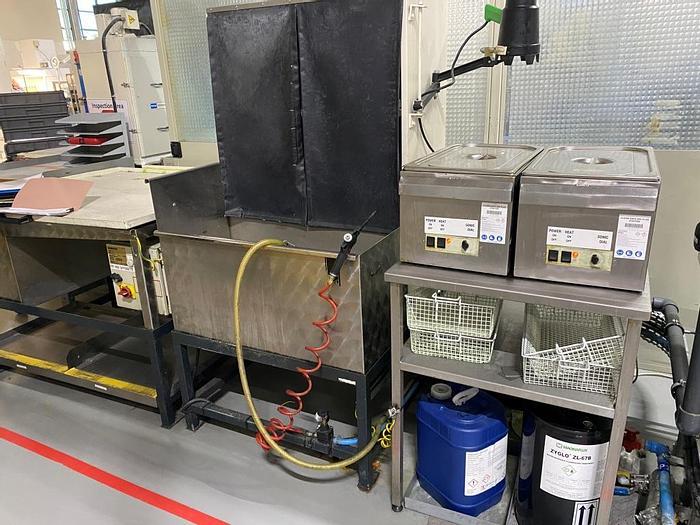 Used Magnaflux DFPI Liquid Penetrant Testing Unit